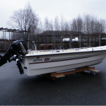 Bever 460ST Wave Edition med Mercury 20 EPI